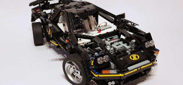 LEGO Technic 8880 updated