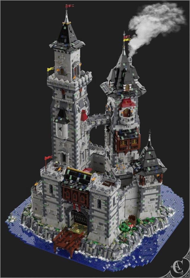 LEGO chateau Castell Y Llyn