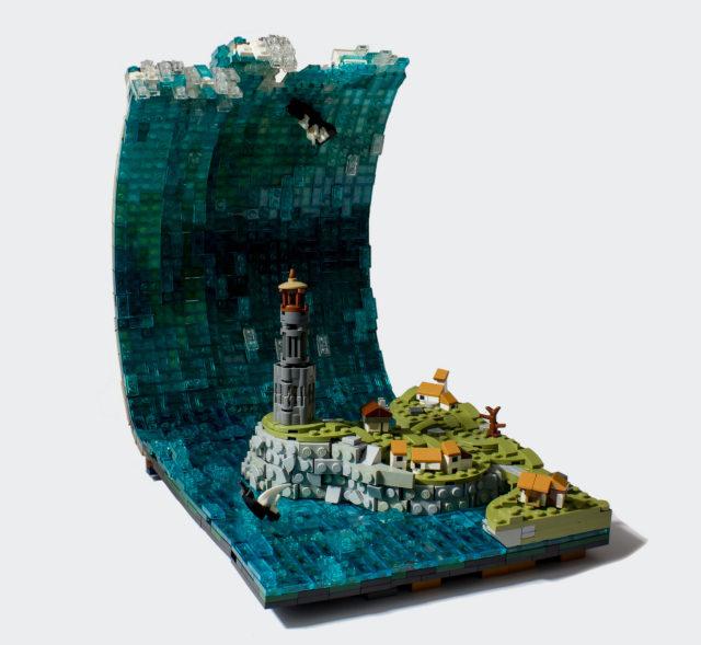 LEGO tsunami