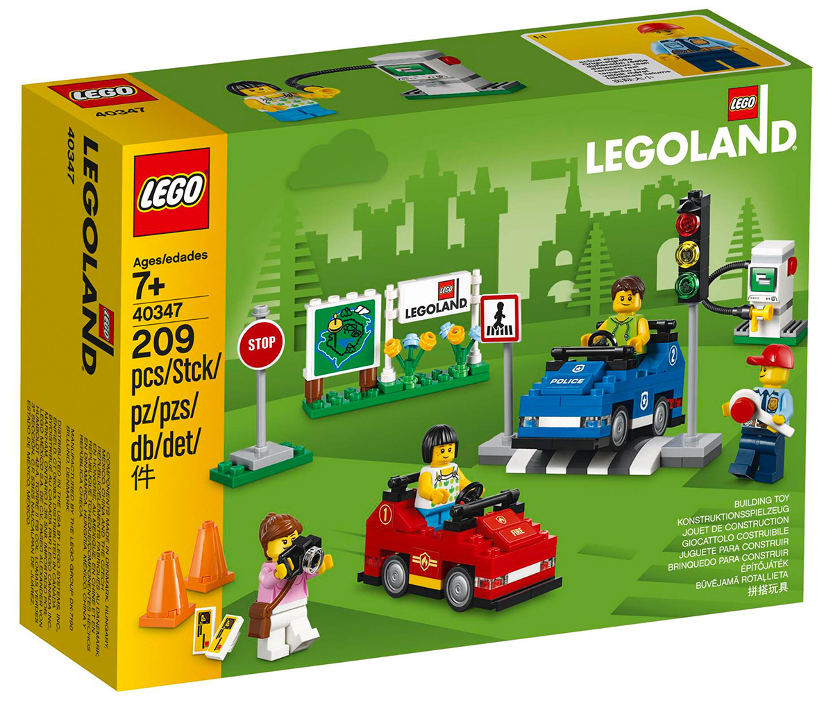 Nouveauté LEGO 40347 LEGOLAND Driving School - HelloBricks