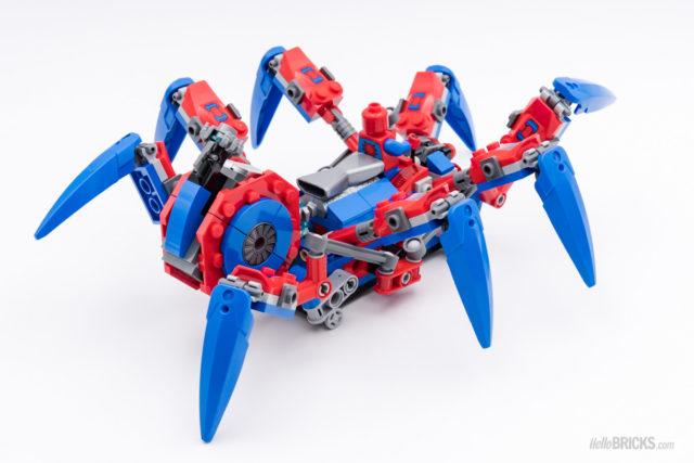 REVIEW LEGO 76114 Spider-Man's Spider Crawler