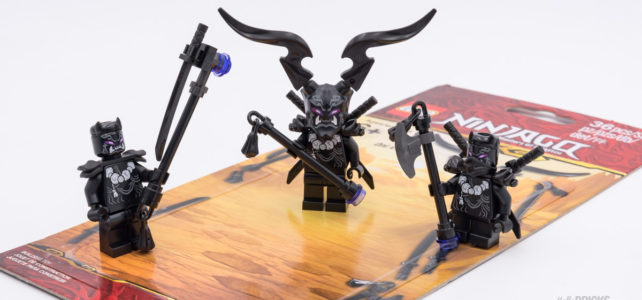 REVIEW LEGO Ninjago 853866 Oni Accessory Set 2019