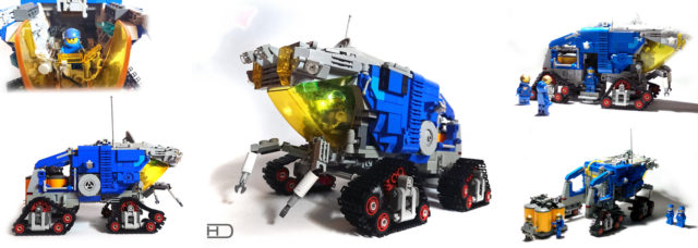 Rover LEGO neo Classic Space