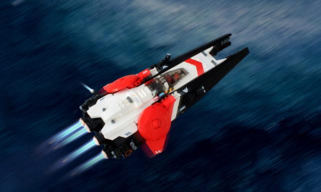 Vanguard Planetary Defender speedboat