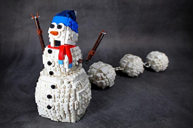 Frantic Snowman - bonhomme de neige
