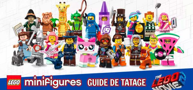 Guide Tatage LEGO Movie 2 71023 HelloBricks