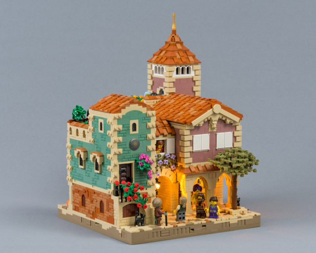Maisons LEGO Houses in Barqa