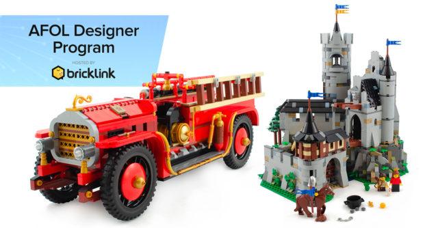 LEGO AFOL Designer program Bricklink