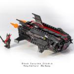 LEGO Batman Justice League Cartoonized Flying Fox