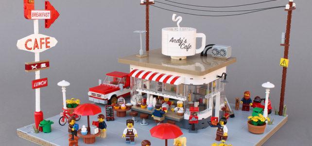 LEGO Cafe vintage Norton74
