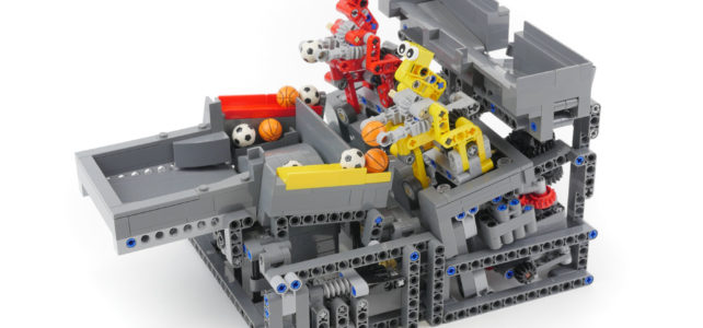 LEGO GBC Catch and Spin Robots