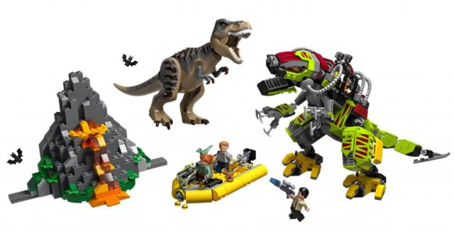 LEGO-Jurassic-World-75938-T-Rex-vs-Dino-Mech-Battle