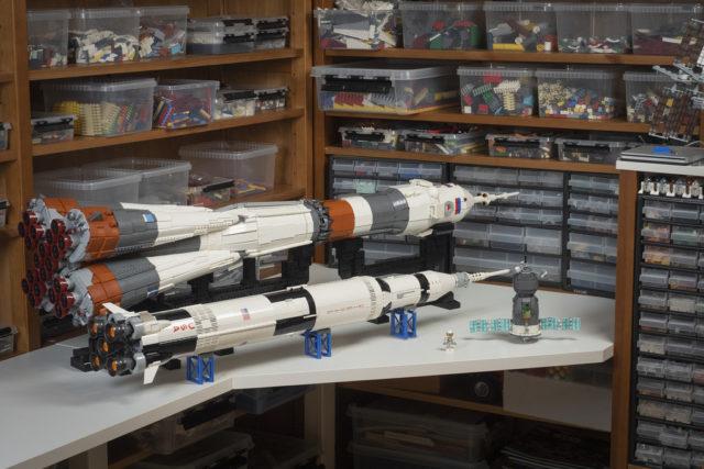 LEGO Soyuz Fregat Rocket