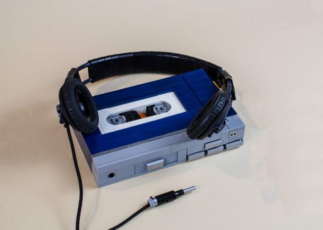 LEGO musique SONY Walkman