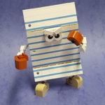 LEGO papier