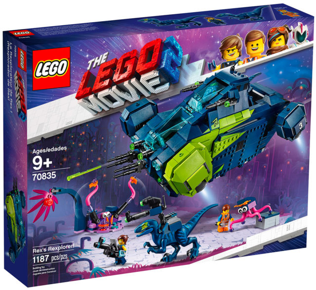 REVIEW LEGO 70835 Rex's Rexplorer (The LEGO Movie 2)