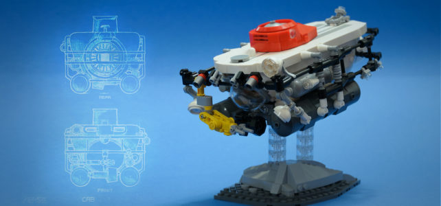 The Abyss LEGO sous-marin