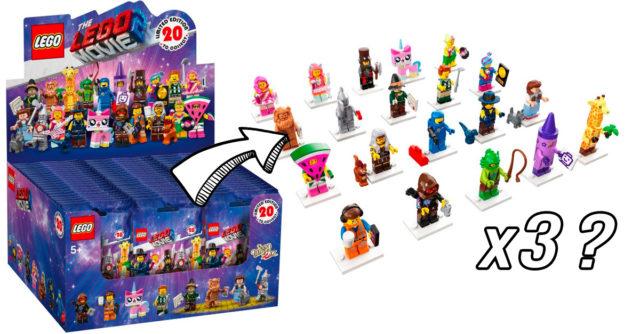 boite 60 LEGO 71023 The LEGO Movie 2 séries complètes