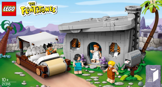 LEGO Ideas 21316 The Flintstones (Pierrafeu)