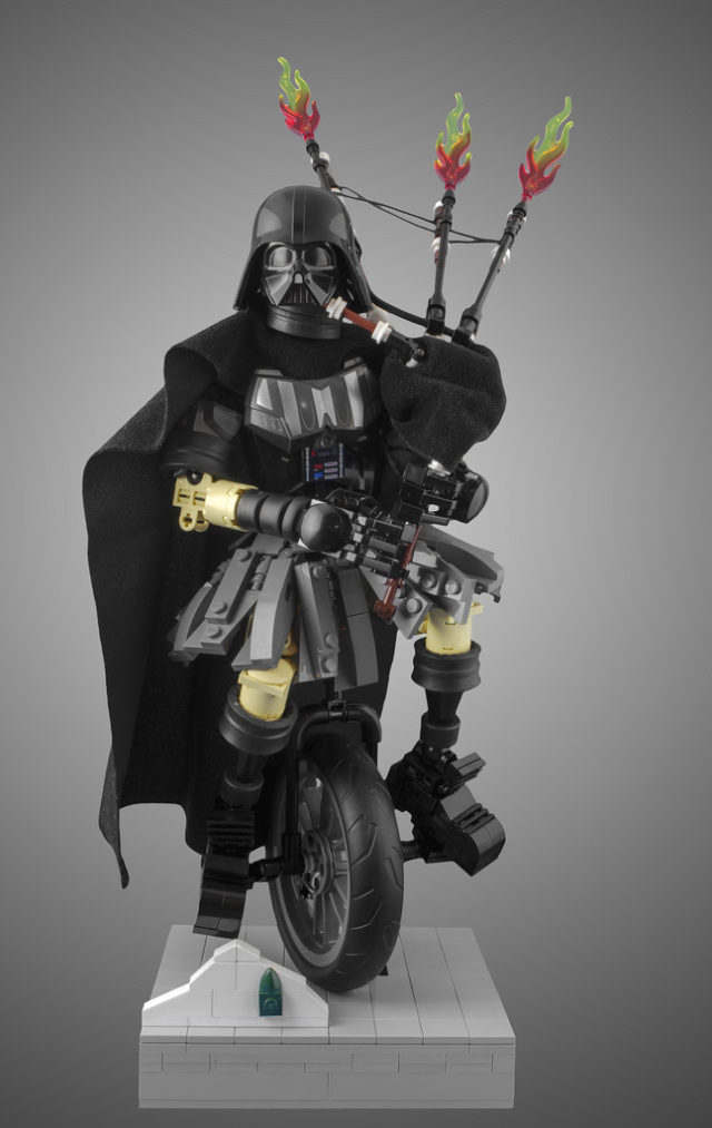 Darth Vader Unipiper (Portland) LEGO