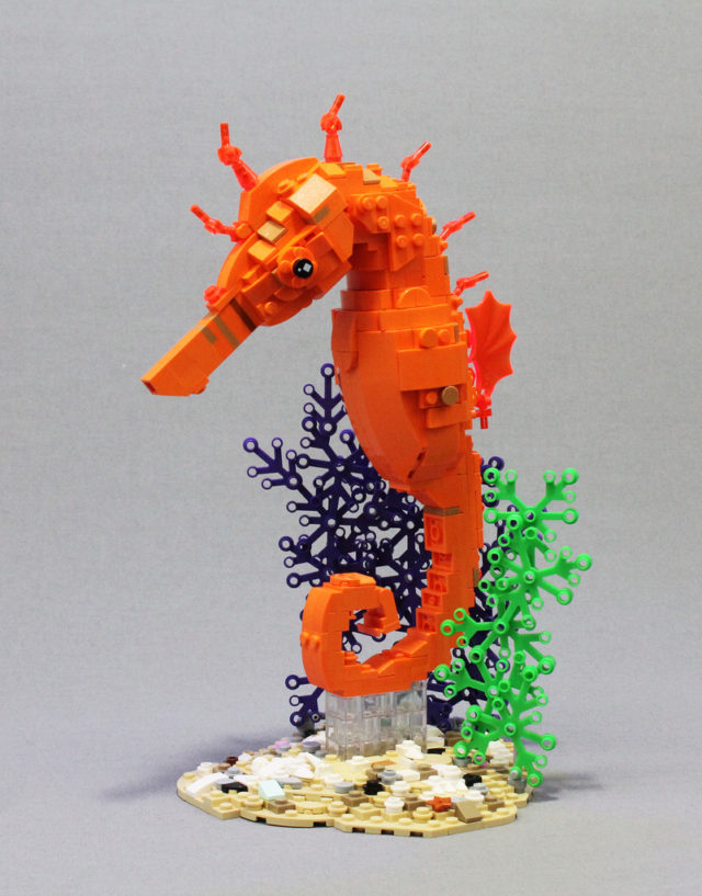 LEGO Hippocampe - Tropical Seahorse