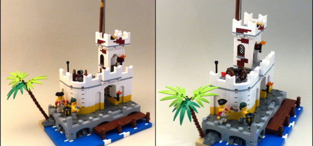 Imperial Outpost LEGO Pirates 90s