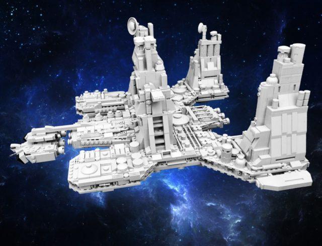 LEGO Alien USCSS Nostromo microscale