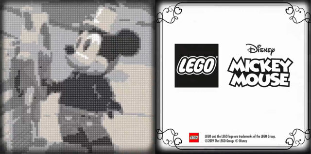 LEGO Ideas 21317 Steamboat Willie teasing