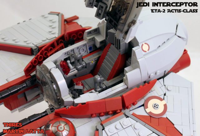 LEGO Star Wars Jedi Starfighter UCS