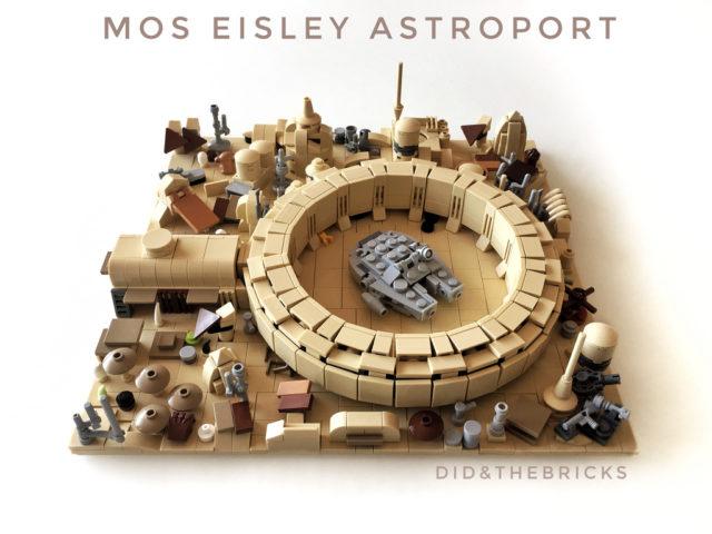 LEGO Star Wars Millennium Falcon Mos Eisley Astroport