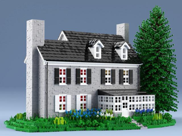 LEGO Stone House