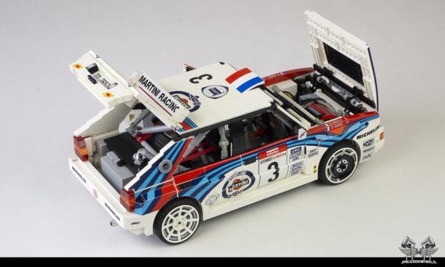 LEGO Lancia Delta HF Integrale EVO