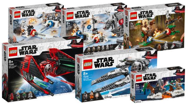 Nouveautés LEGO Star Wars 2019