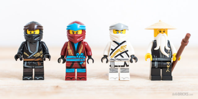 REVIEW LEGO Ninjago 70670 Monastery of Spinjitzu