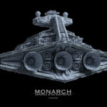 Star Wars Imperial Star Destroyer Monarch