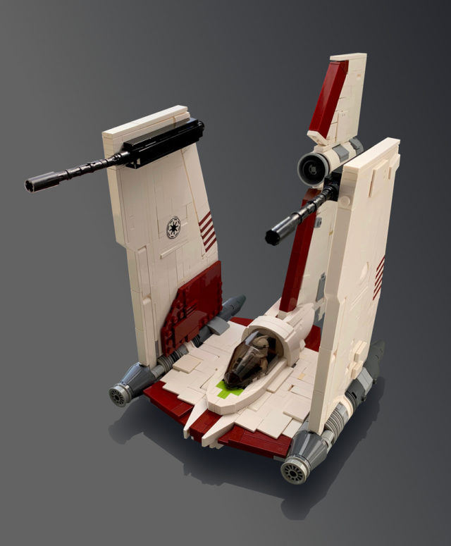 V-19 Torrent starfighter Star Wars The Clone Wars
