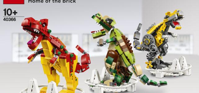 40366 LEGO House Dinosaurs