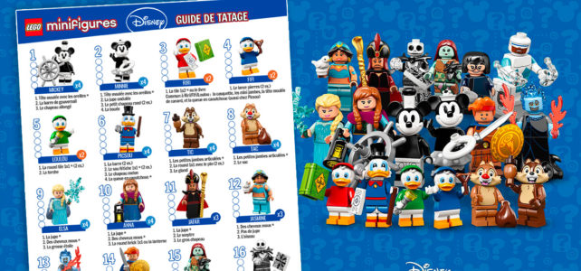 Minifigs à collectionner LEGO Disney Series 2 (71024) : maintenant disponibles chez LEGO (+ guide de tâtage)