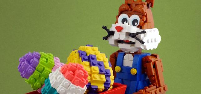 Joyeuses Pâques LEGO Easter Bunny