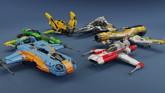 LEGO Ace Squadron of Star Wars Resistance