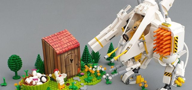 LEGO Fabuland Egg Hunting Bunny Mech