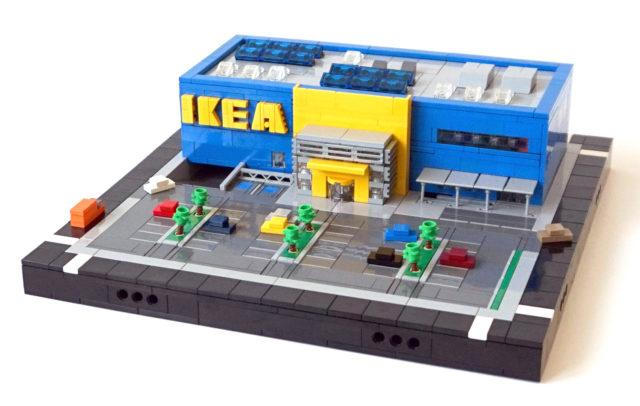 LEGO IKEA microscale