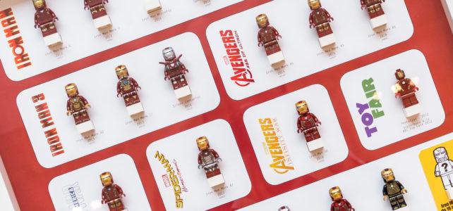 Minifig LEGO Iron Man : toutes les versions sorties, de 2012 à 2019