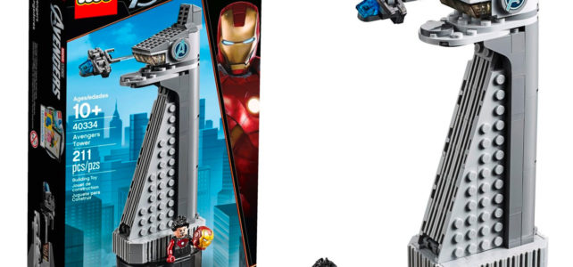 LEGO Marvel 40334 Avengers Tower