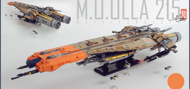 LEGO Shiptember Battlecruiser