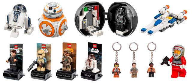 LEGO Star Wars 5005704 Mystery Box contenu