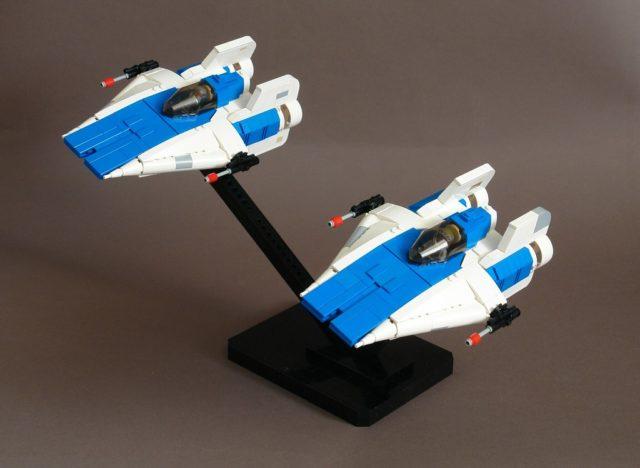 LEGO Star Wars A-Wings Patroling