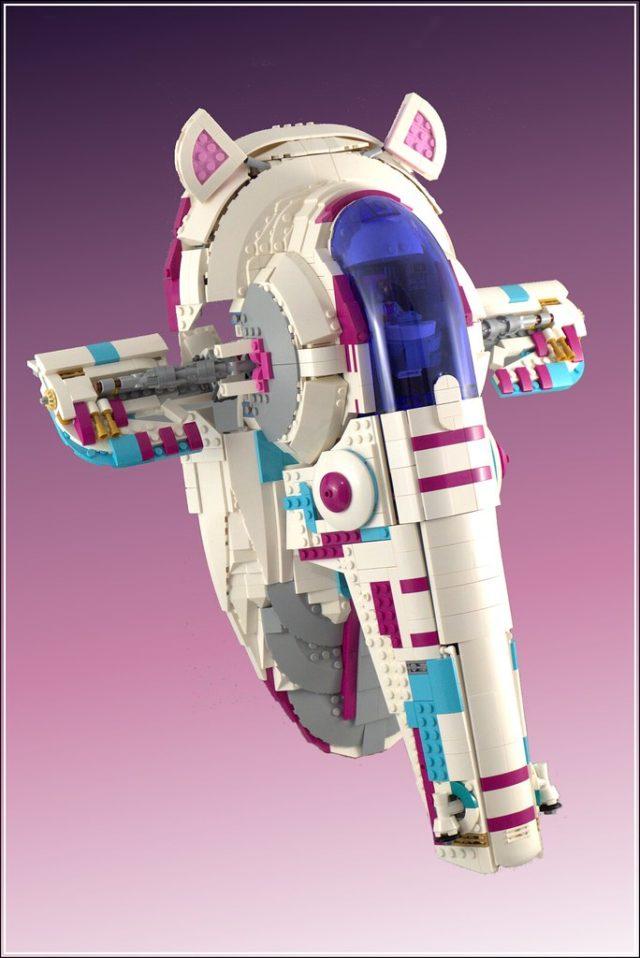 LEGO Star Wars Slave I disco
