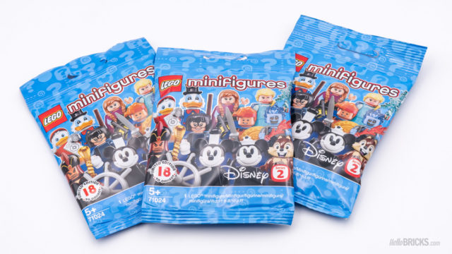 REVIEW LEGO 71024 Disney Collectible Minifigures