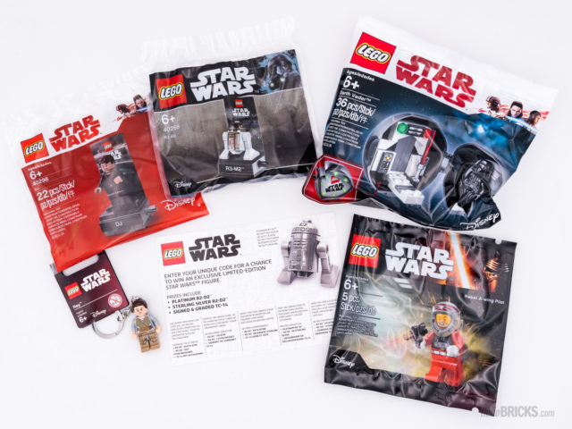 REVIEW LEGO Star Wars 5005704 Mystery Box